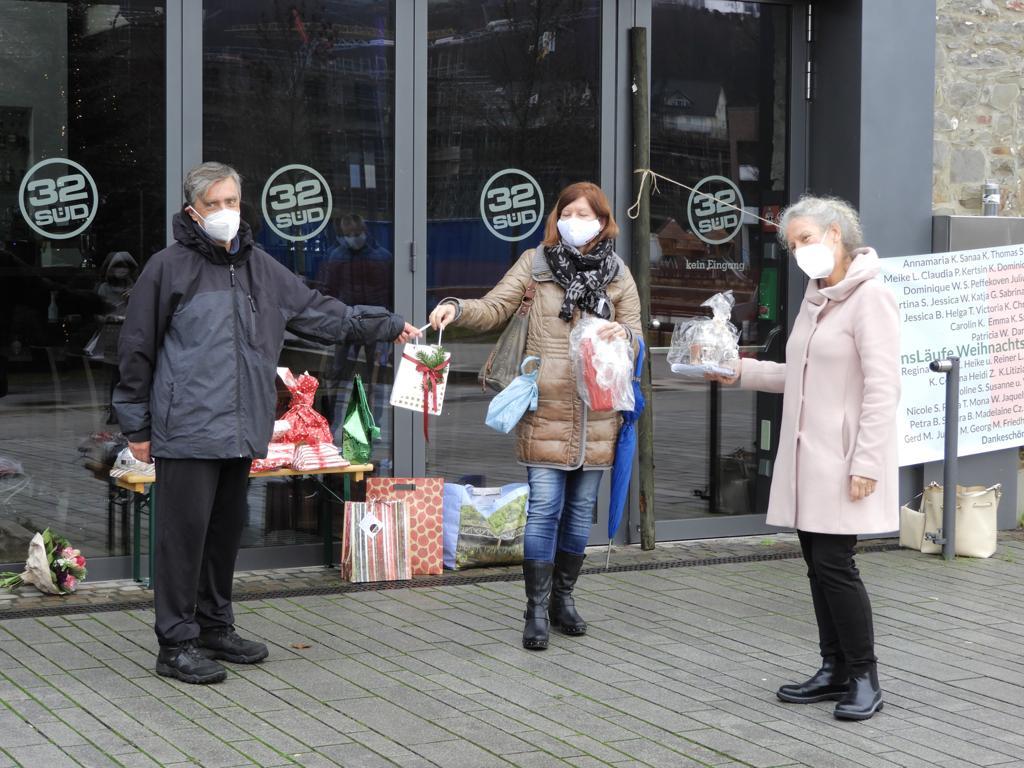"""""""JensLäufe""""-Weihnachtsgeschenke-Aktion"""